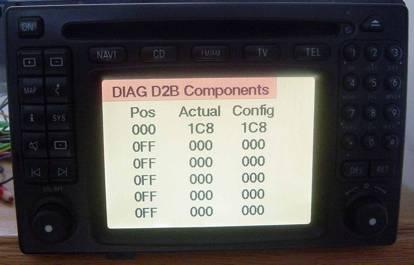 Mercedes COMAND Diagnostic