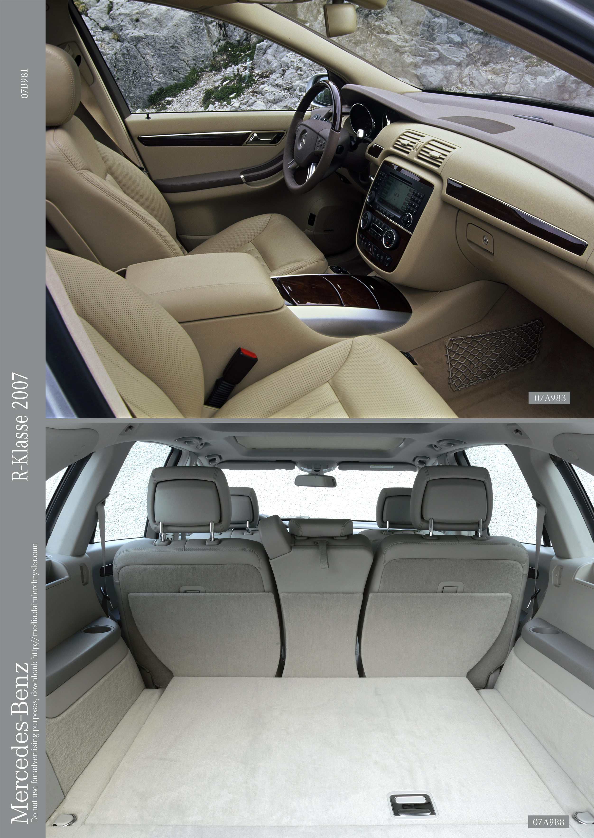 Here Are Pictures Of The Inside And Outside (courtesy Of Daimler . Full resolution  snapshot, nominally Width 2504 Height 3531 pixels, snapshot with #5B5041.
