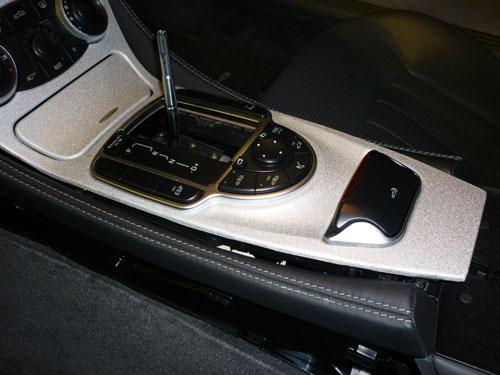 Mercedes SL R230 AMG aluminium trim picture