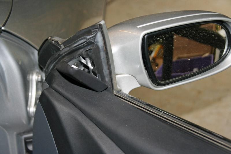 Mercedes Door Mirror Removal